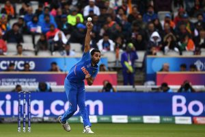Bhuvneshwar Kumar out for next 2-3 matches due to hamstring injury: Virat Kohli