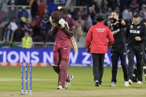ICC Cricket World Cup 2019: Braithwaite's hundred in vain as New Zealand win by 5 runs