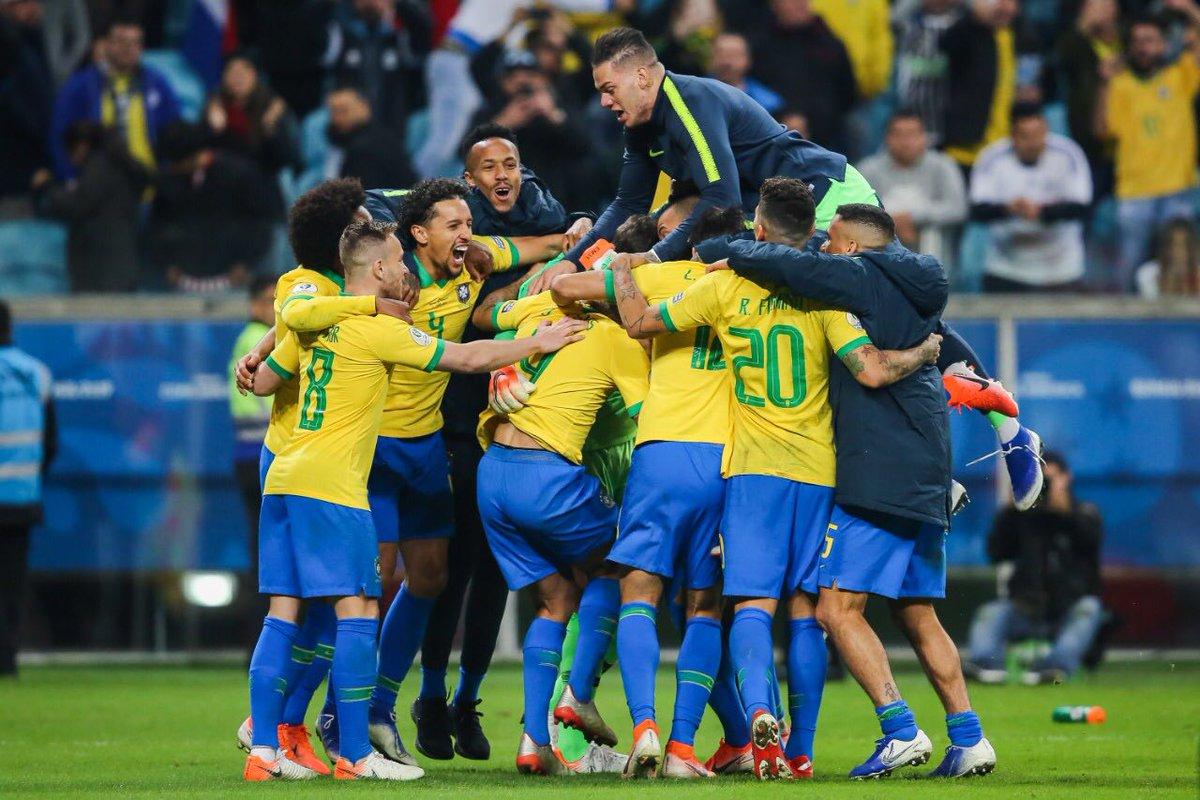 2019 Copa America, Brazil, Paraguay, Roberto Fernandez, Fabian Balbuena,