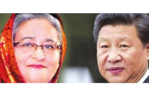 Is Hasina warming upto China?