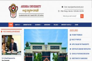 Andhra University UG/PG results 2019 declared at andhrauniversity.edu.in | Check now