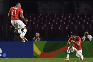 Chile begin Copa America title defence by trouncing Japan 4-0