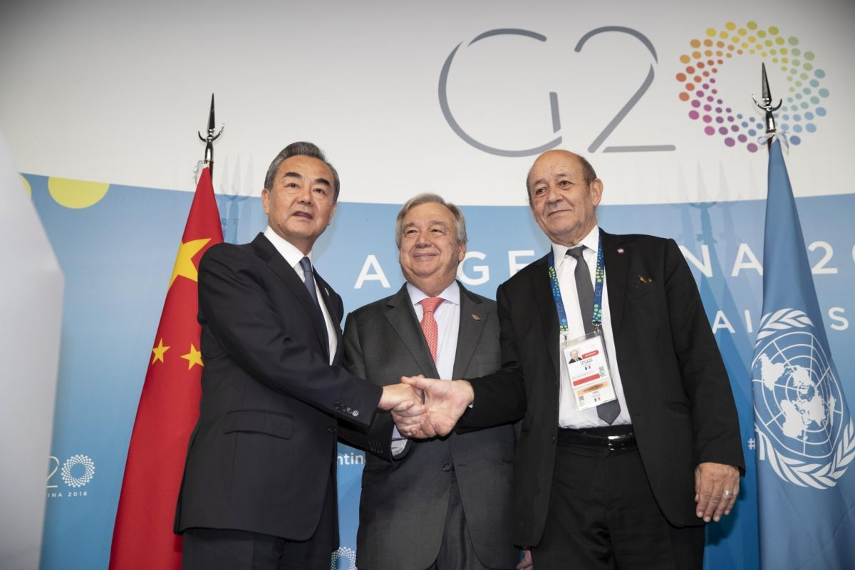 China says it 'won't allow' G20 discussion on Hong Kong