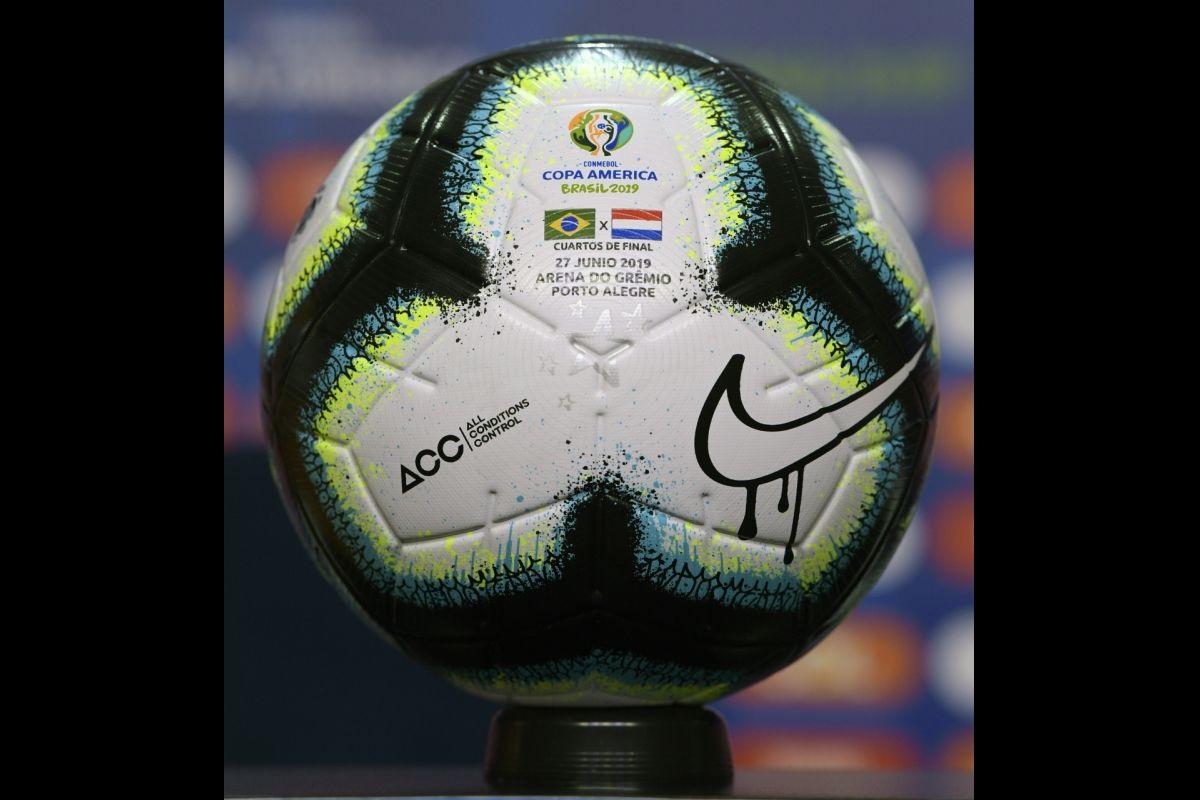 2019 Copa America, Arena do Gremio, Brazil, Paraguay, Lionel Messi,