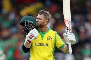 David Warner becomes first player with two 150 plus scores in World Cup
