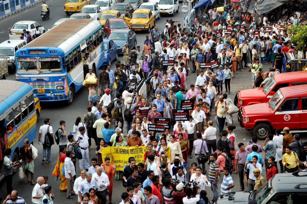 Doctors, Assault, Kolkata, Doctors protest, NRS