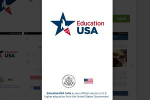 US mission launches app for Indian students wanting to study in America