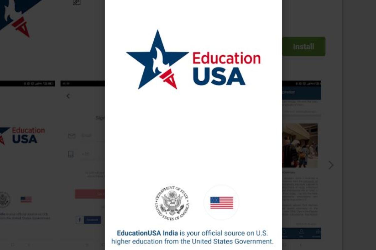 US mission, App, Indian students, America, EducationUSA
