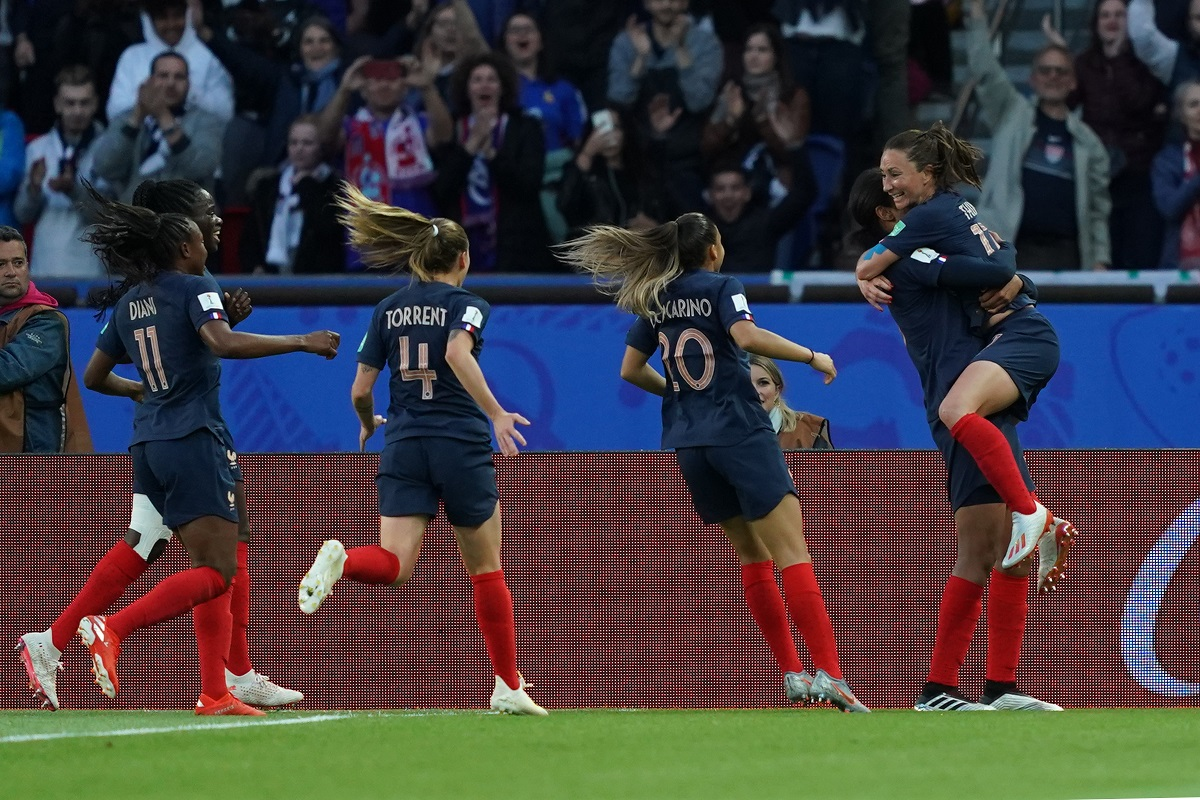 France were superb throughout the match and did not give anything away to the opposition in the opening match of the FIFA Women's World Cup
