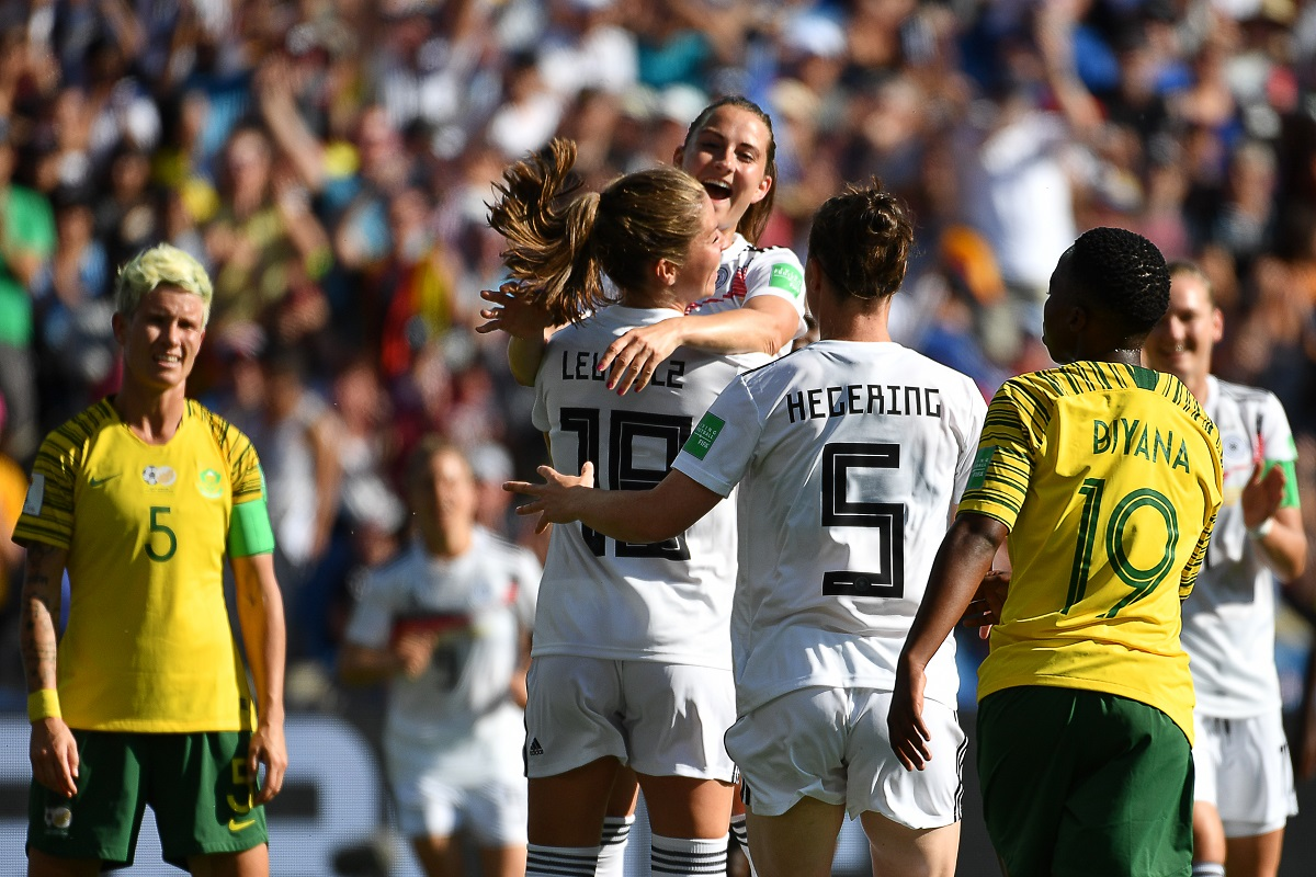 the latest 1c6f0 bd3a5 FIFA Women's World Cup 2019 updates: Germany pummel South ...