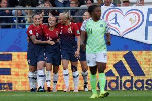 FIFA Women's World Cup 2019: Guro Reiten steals show as Norway beat Nigeria 3-0