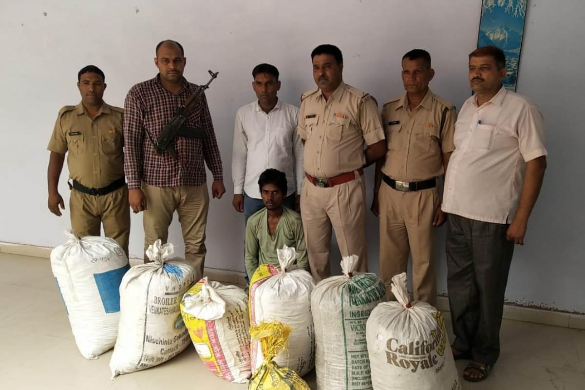 Haryana Police, Ganja, Rewari, CIA team