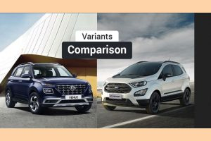 Variants compared: Hyundai Venue vs Ford EcoSport