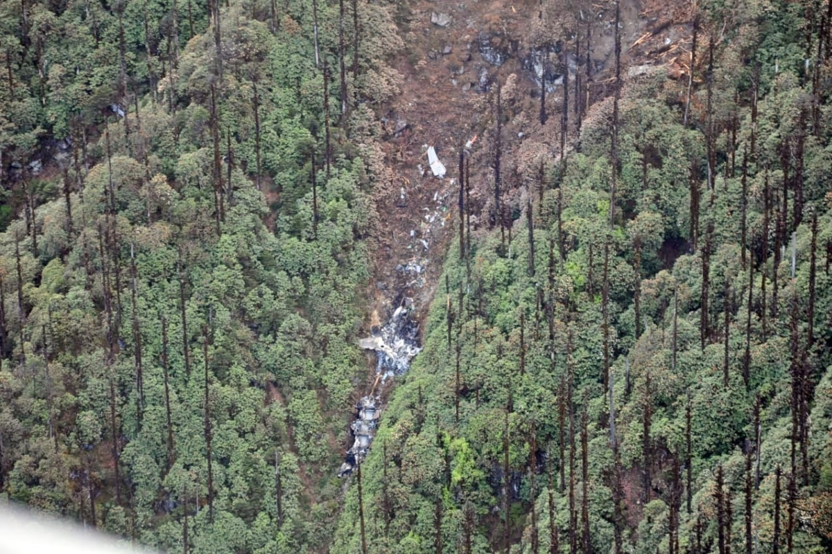 An-32 crash, IAF, Bodies, Mortal remains