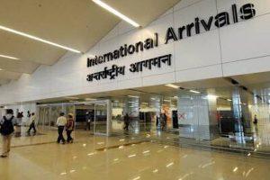 Flight operations continue at IGI airport despite rain, waterlogging