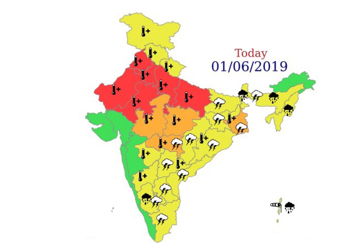 India Meteorological Department, heatwave, alert for Delhi-NCR