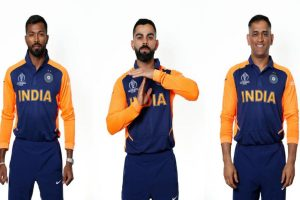 CWC 2019: India to don new orange and blue coloured 'away' jersey against England