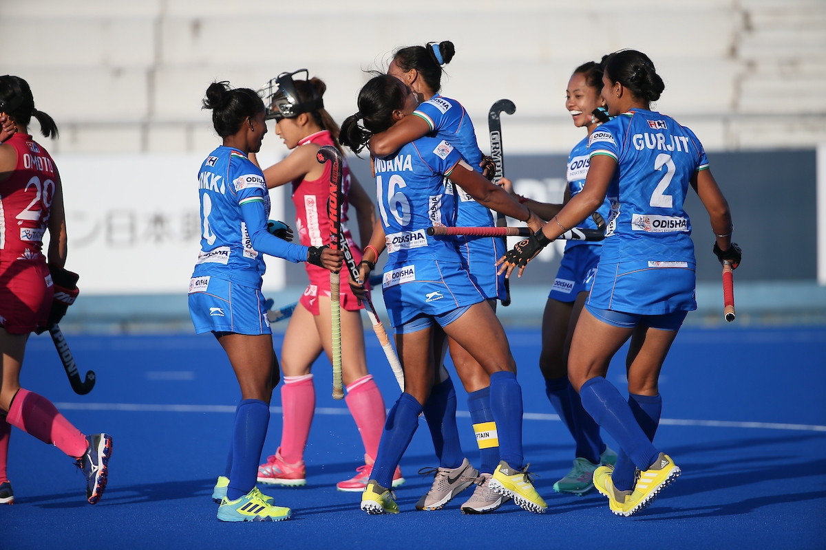 2019 Women's FIH Series Finals, India, Japan,
