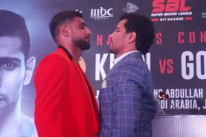 Accident rules boxer Neeraj Goyat out of bout against Amir Khan