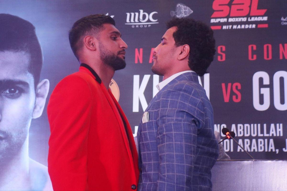 Neeraj Goyat, Amir Khan, WBC Pearl World Championship,