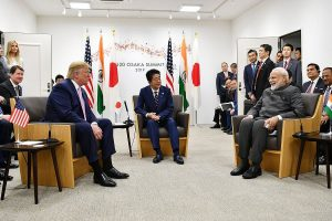 Modi holds trilateral meet with Abe, Trump on Indo-Pacific, calls JAI 'productive'