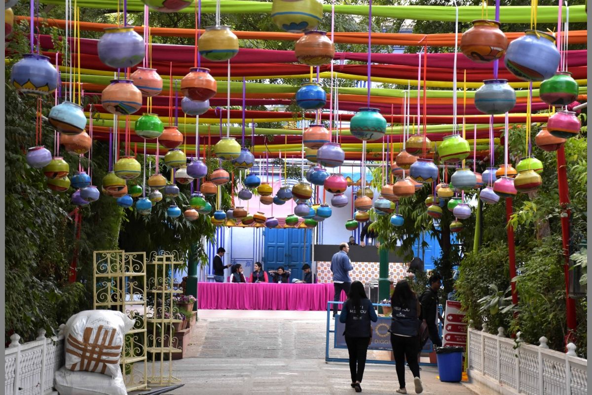 Jaipur Literature Festival , JLF, Pink city , Three day festival, Northern Ireland , cultural carnival , contemporary writers, British Council, literary traditions, Lucy Caldwell, Laxmi Narayan Tripathi, Eric Ngalle Charles, Pico Iyer, Brian Keenan, Patrick Gale, multilingual literary heritage.