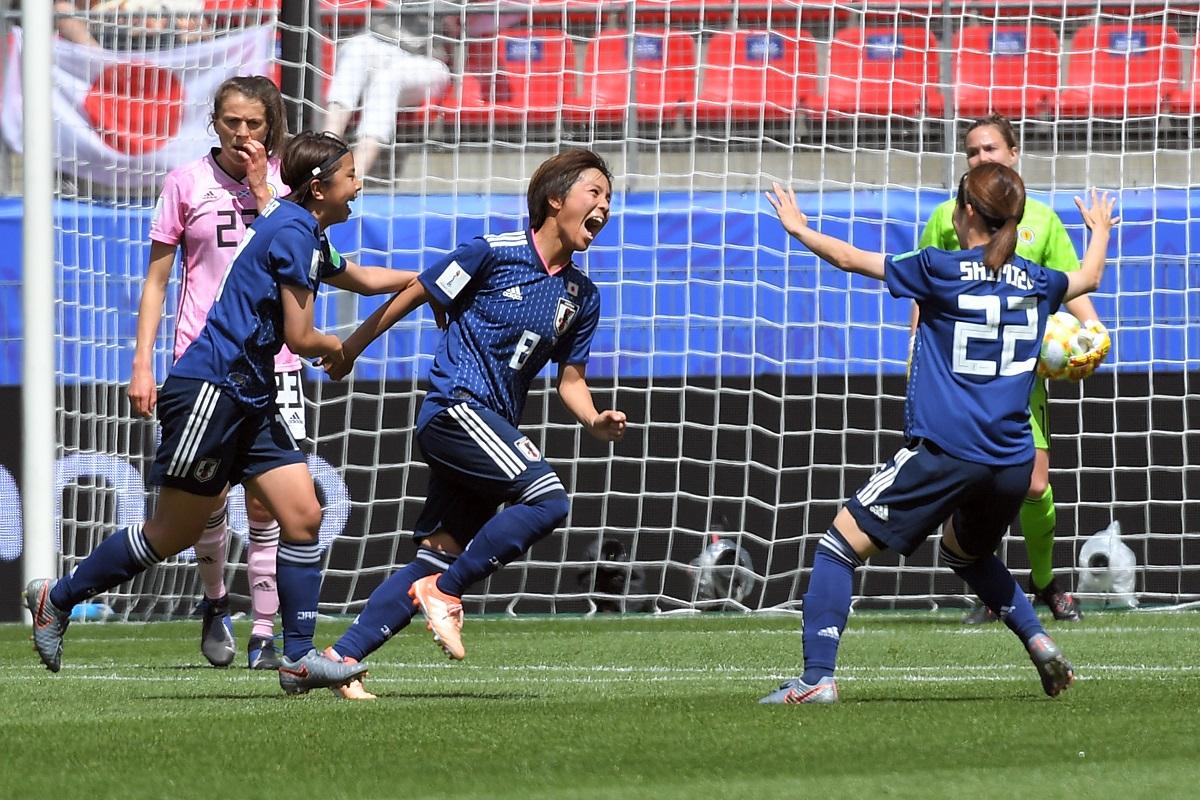 Women's Word Cup, FIFA, Japan, Scotland, Mana Iwabuchi