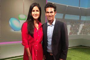 Former cricketer Mohammad Kaif meets Katrina Kaif