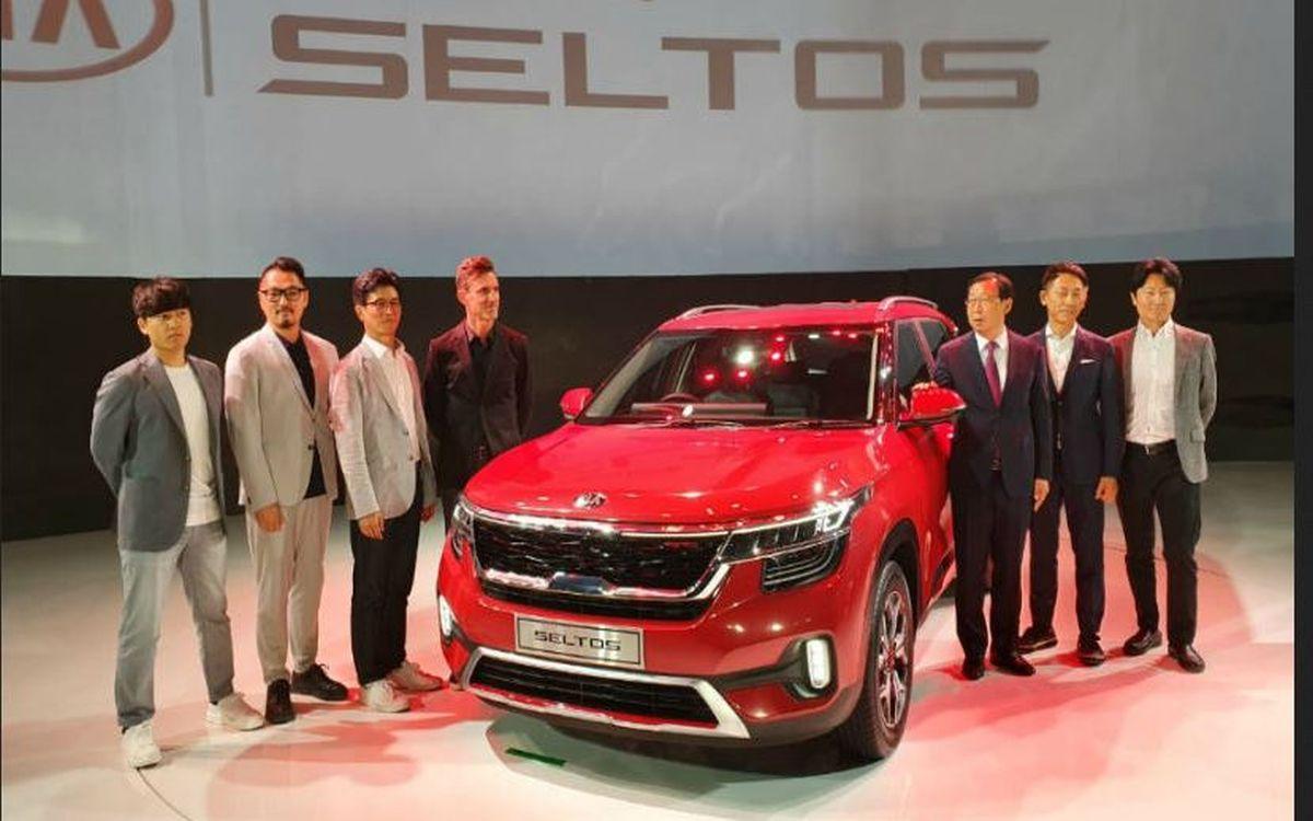 Kia Seltos unveiled in India