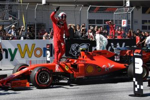 Ferrari's Leclerc earns his 2nd career pole for Austrian GP