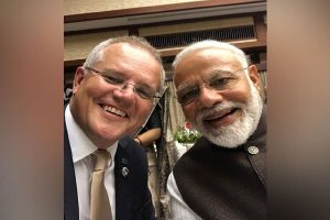 Narendra Modi-Scott Morrison bonhomie in selfie, post unique tweets