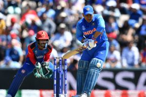CWC 2019: Sachin Tendulkar disappointed over MS Dhoni's knock against Afghanistan