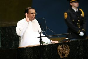 Got no reports that terrorists involved in Easter bombings had travelled to India: Lankan president