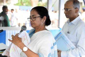 Mamata Banerjee congratulates Nitish Kumar for parting with NDA outside Bihar