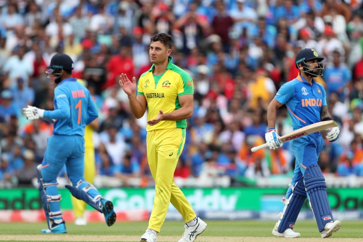 Marcus Stoinis, Australia, Nottingham, Aaron finch, ICC Cricket World Cup 2019