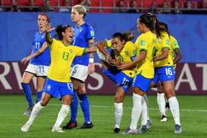 Marta dedicates World Cup record to 'anyone fighting for equality'