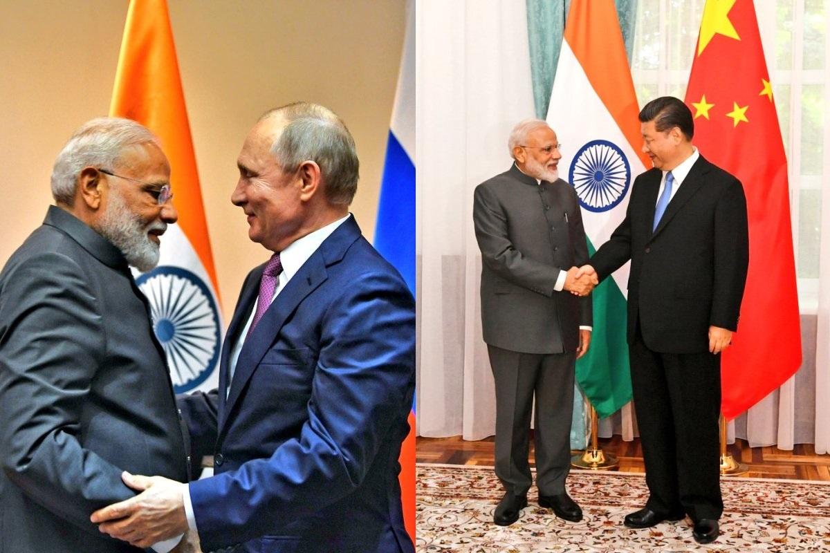 PM Modi, Vladimir Putin, Xi Jinping, SCO Summit