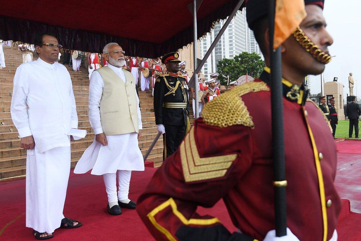 Terrorism, Joint threat, Focussed action, PM Modi, Sri Lanka