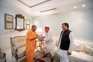 Mulayam Singh Yadav admitted to Medanta