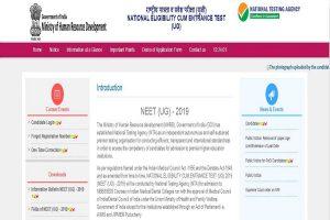 NTA NEET results 2019 result website ntaneet.nic.in not responding; candidate from Rajasthan, Delhi, Uttar Pradesh among NEET 2019 toppers
