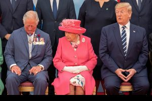 Trumped by the Queen