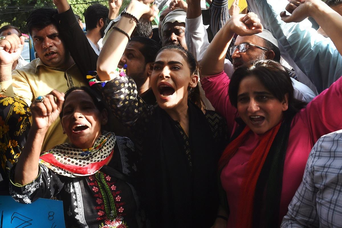 Crackdown in Pakistan