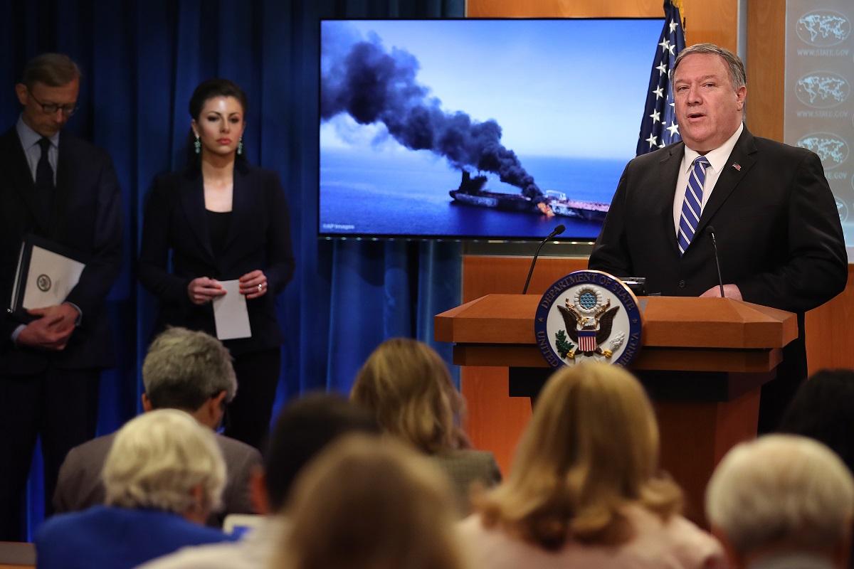 Maritime blitzkrieg, Gulf of Oman, United States of America, Iran, Iraq, Donald Trump