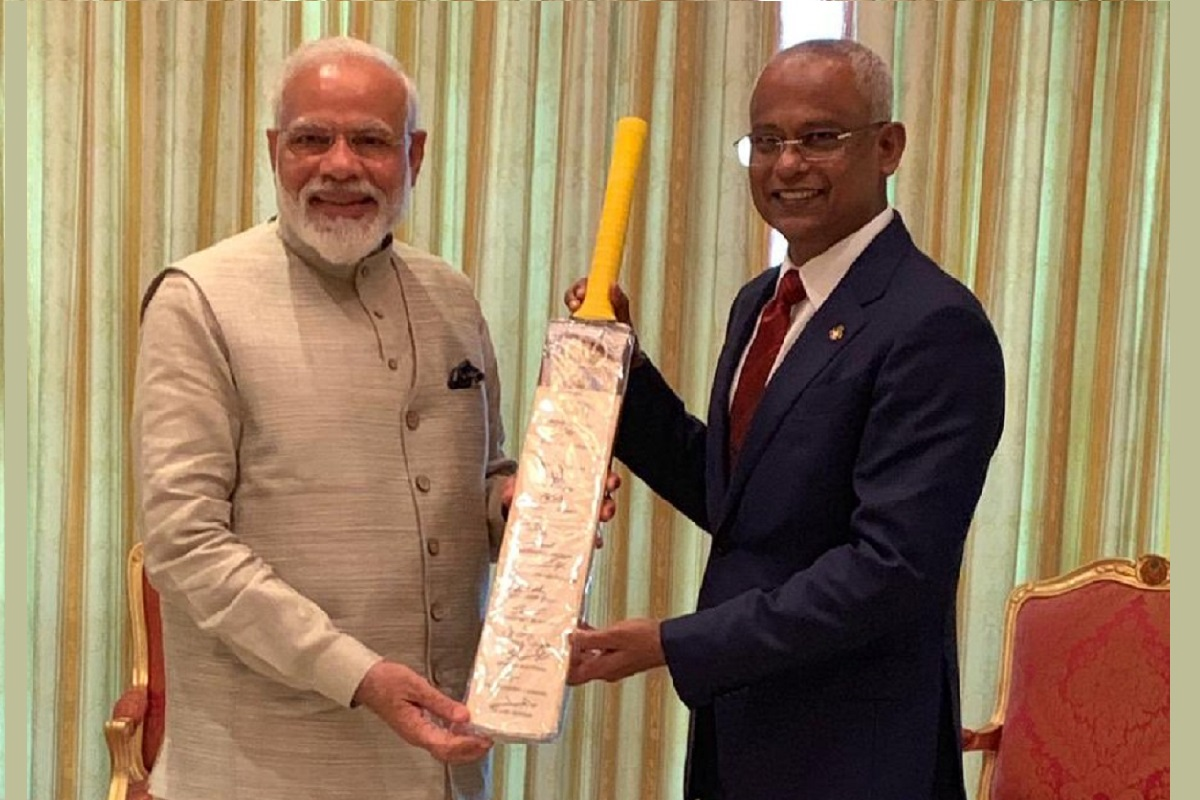 Sachin Tendulkar, Narendra Modi, Maldives, Cricket Diplomacy, President Solih, Team India