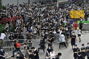 Thousands march in Hong Kong against China ahead of G20 summit in Japan