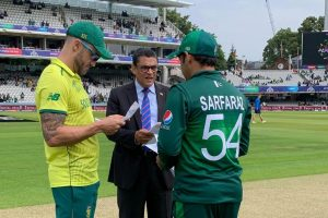 ICC Cricket World Cup 2019: Pakistan opt to bat against South Africa