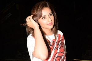 Parineeti is 'still' learning how to play badminton