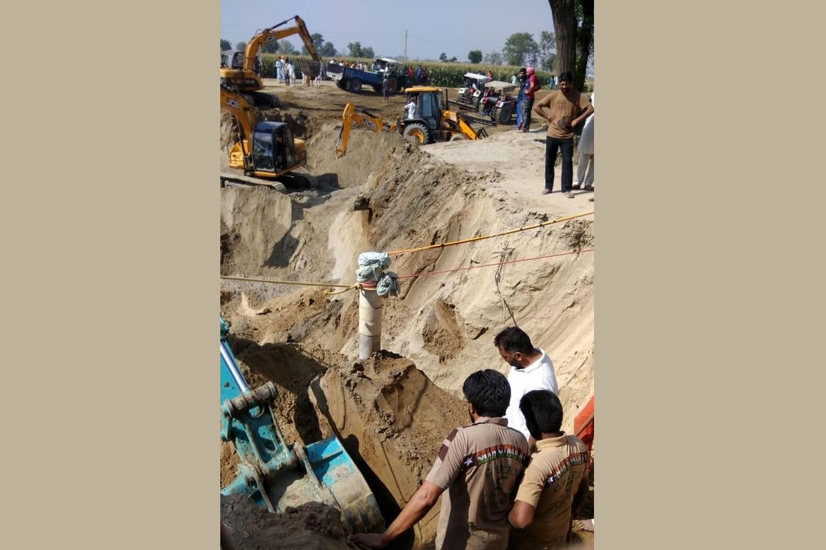 Snag, Rescue operation, Child, Punjab borewell
