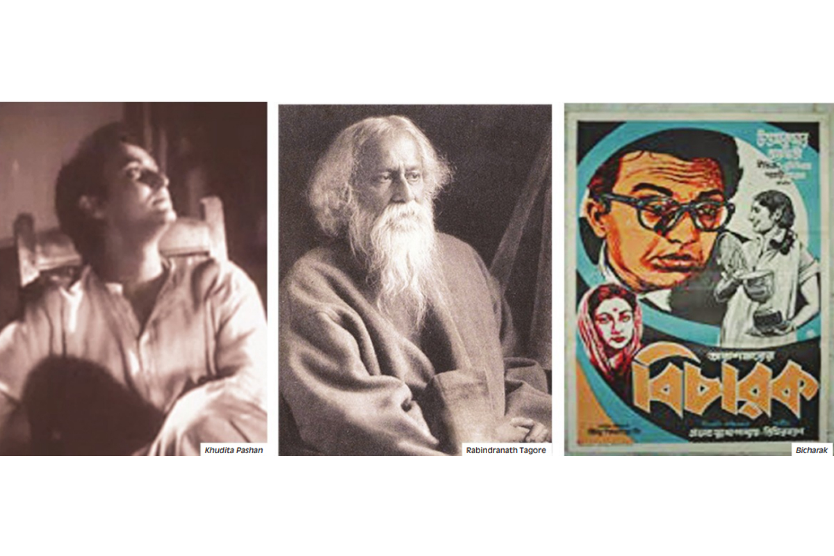 Rabindranath Tagore, mass communication, cinema, JF Madan's company, Edward Thomson, Natir Puja, Murari Mohan