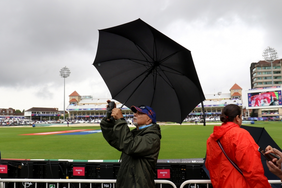 Rain, Washout, India, New Zealand, World Cup 2019